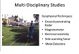 16. Multi-Disciplinary Studies - Geophysical Techniques